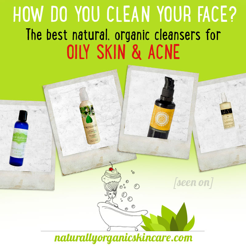 best natural organic face cleansers with essential oils for acne overview