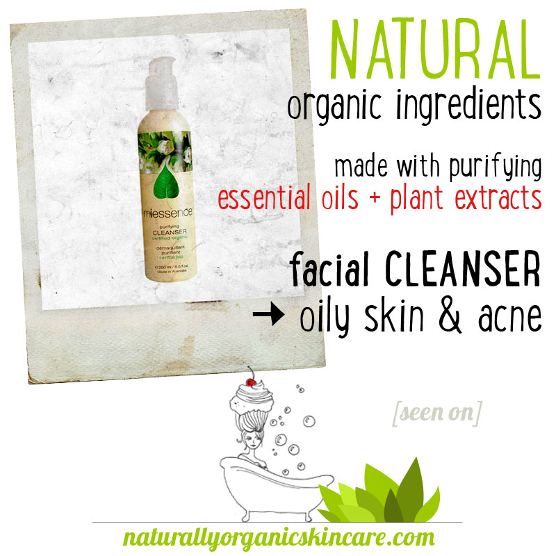 purifying facial cleanser essential oils for acne miessence natural organic skin care